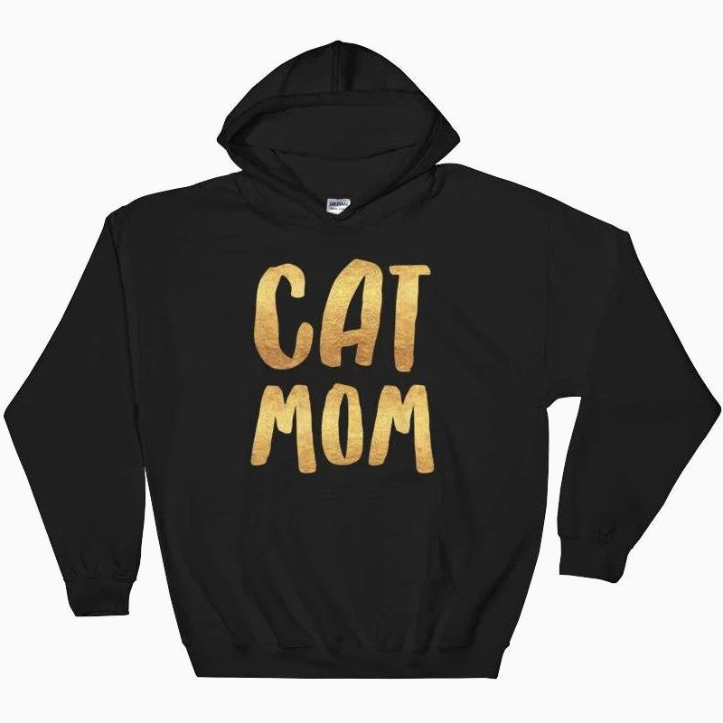 Cat Mom Hoodie - Pawsome Couture