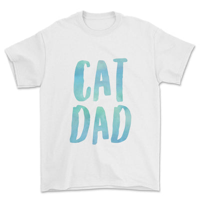 Colorful Cat Dad T-Shirt-Pawsome Couture