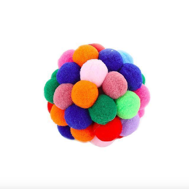 Colorful Catnip Bouncy Ball-Pawsome Couture