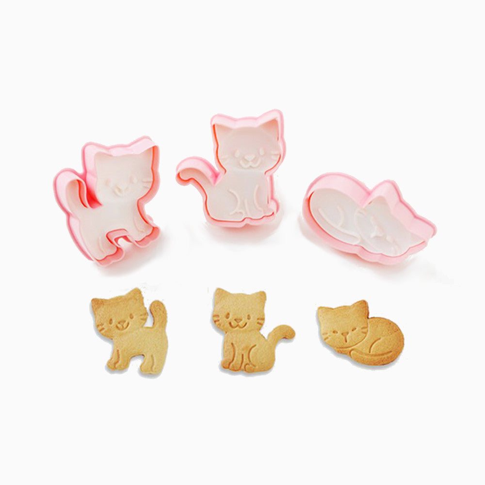 Kitty Cookie Stamp Set