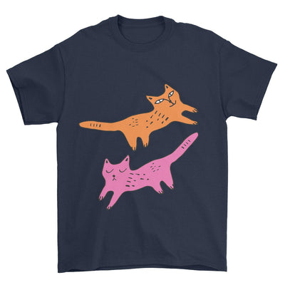 Cool Cats Graphic T-Shirt-Pawsome Couture