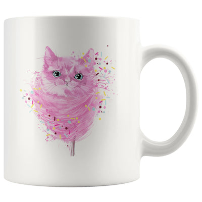 Cute Cotton Kitty Mug