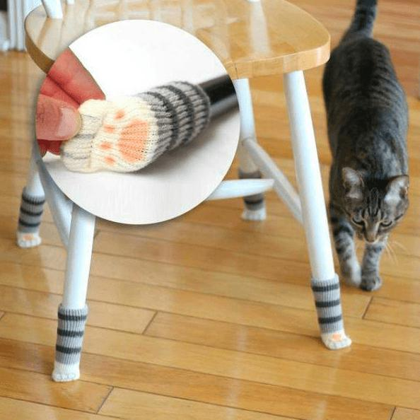 Cute Furniture Cat Paw Leg Pads