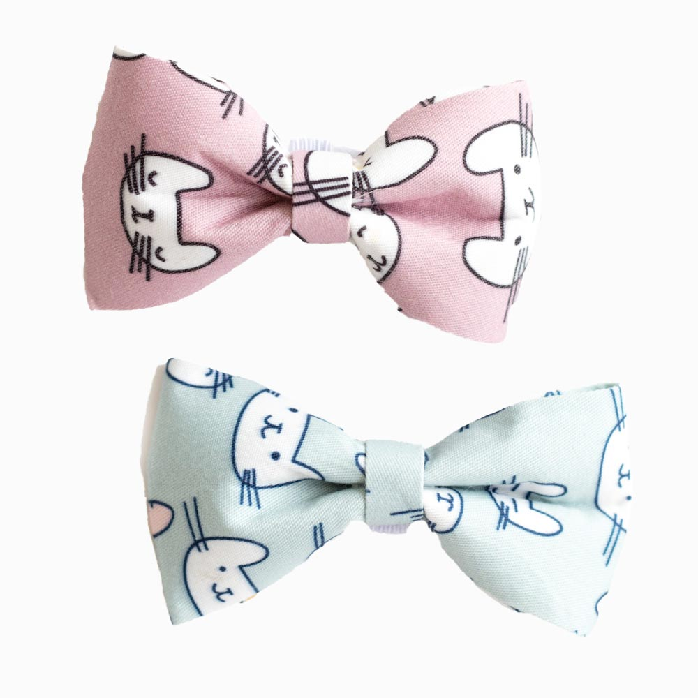 Cute Cats Pastel Bowtie - Pawsome Couture
