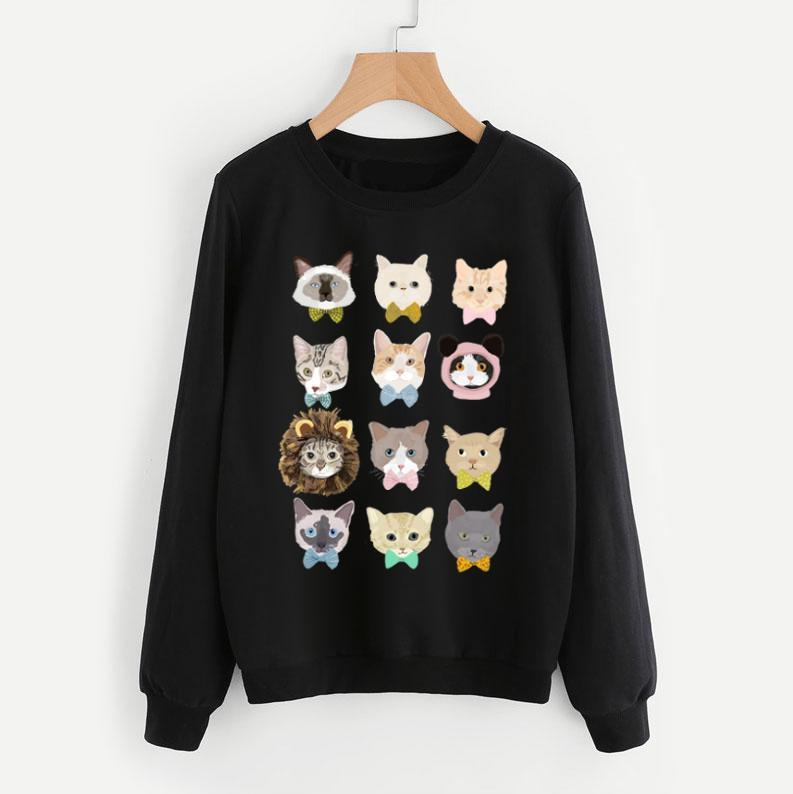 Dapper Cats Sweatshirt - Pawsome Couture