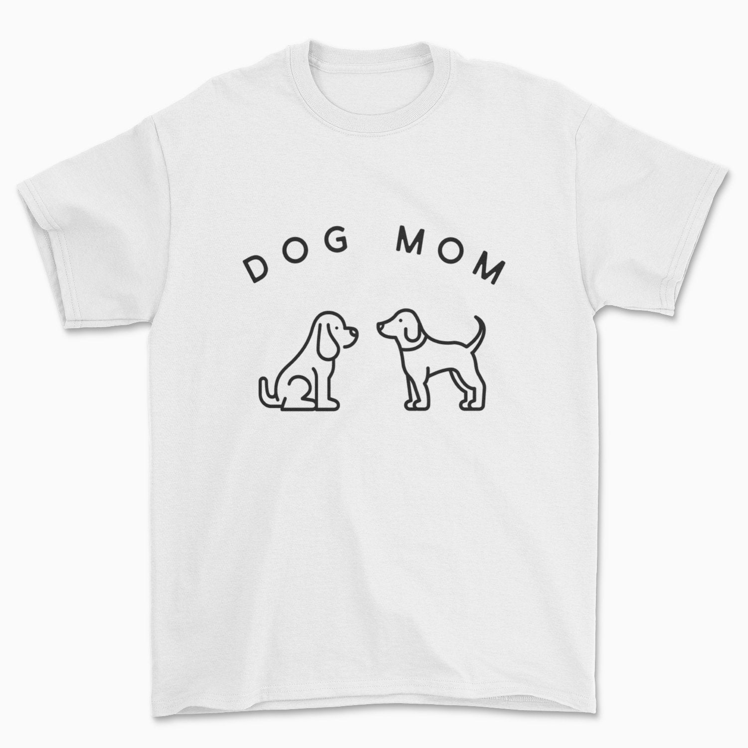 Dog Mom T-Shirt - Pawsome Couture