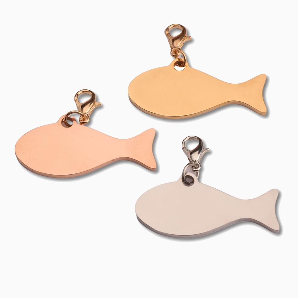 Fish Collar Charm - Pawsome Couture