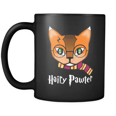 Hairy Pawter Black 11oz Mug