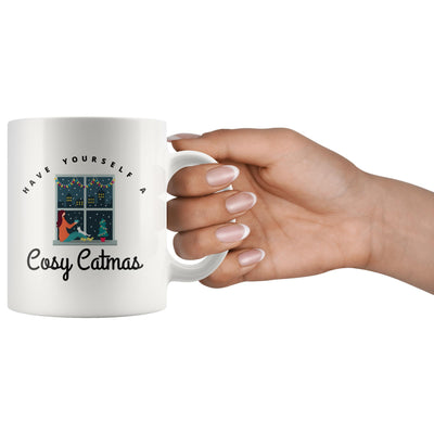 Have Yourself A Cosy Catmas White Mug