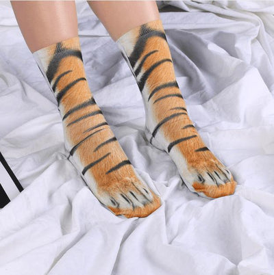 Hilarious Animal Paw Socks