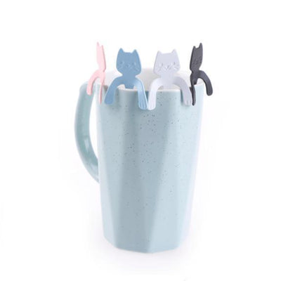 Hugging Kitty Spoons - Color Edition