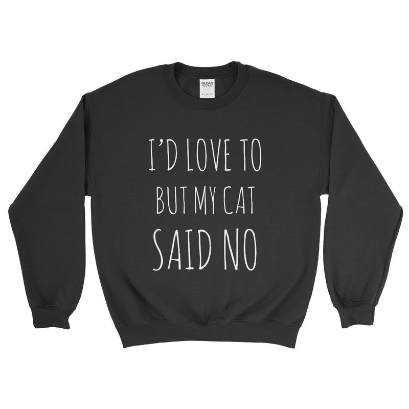 sweatshirt 11 color options Don\u2019t talk to me unless it\u2019s about cats