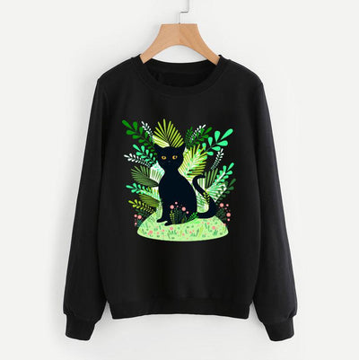 Jungle Cat Sweatshirt-Pawsome Couture
