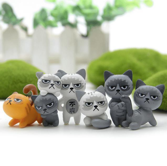 Mini Grumpy Cat Decorations
