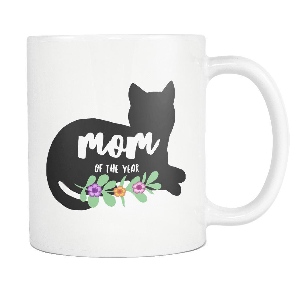 Mom Of The Year Silhouette Mug