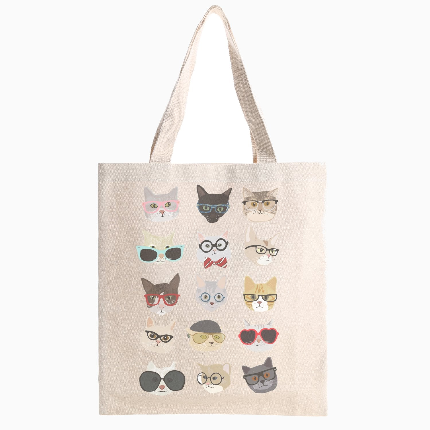 Multi Cat Tote Bag