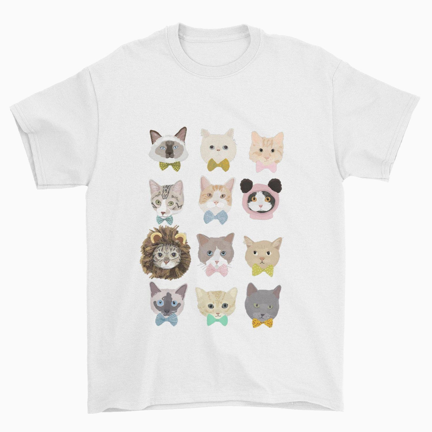 Dapper Cats T-Shirt - Pawsome Couture