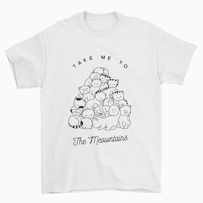 Take Me To The Meowntains T-Shirt
