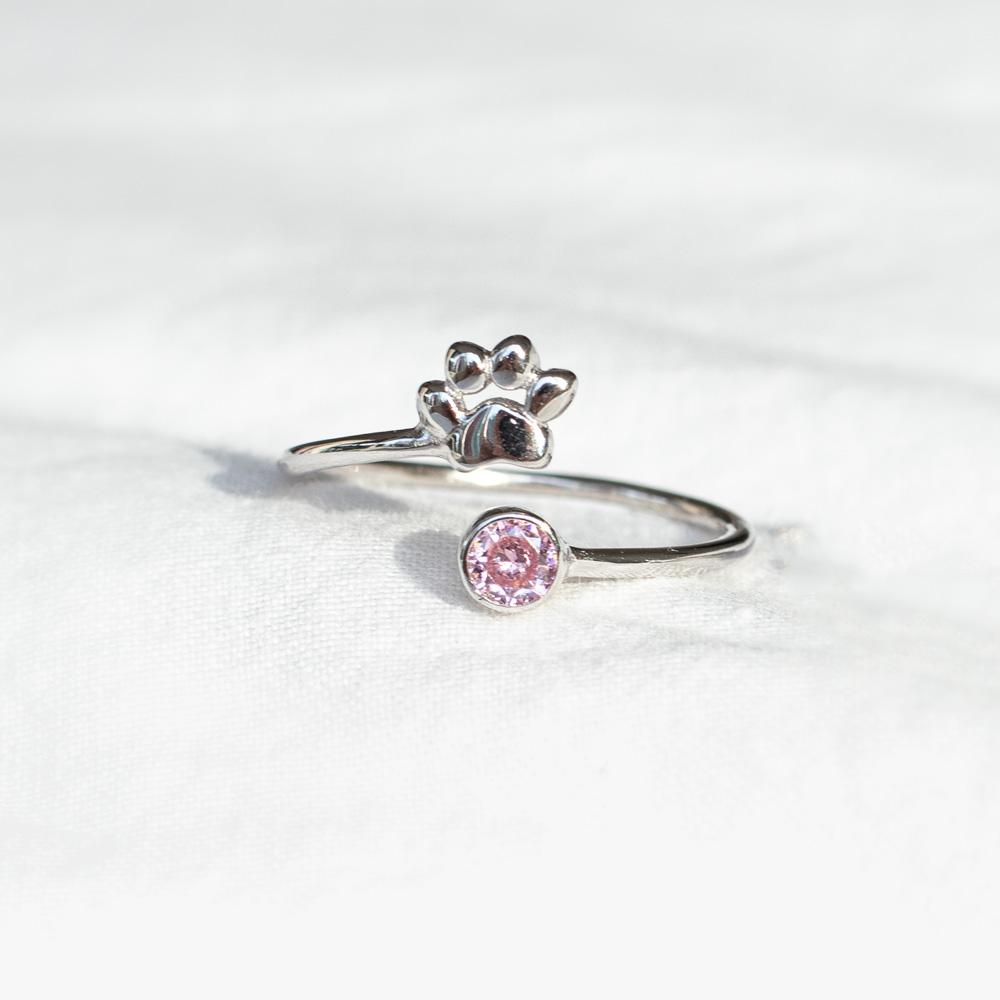 Spiral Paw Ring - Pawsome Couture