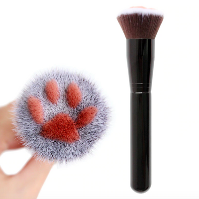 Paw Print Make-Up Brush-Pawsome Couture