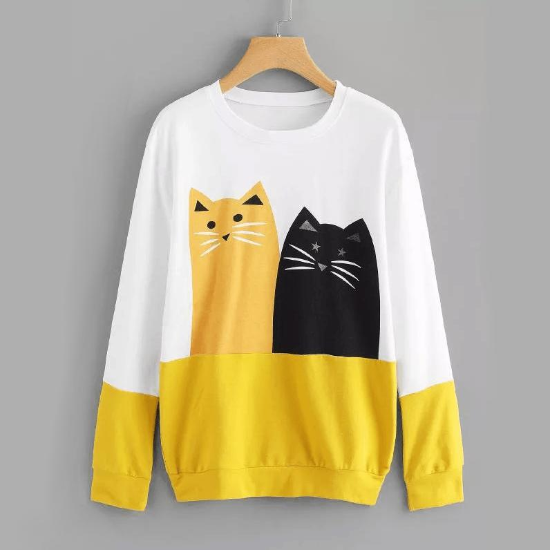 Pawsome Kitties Sweatshirt - Pawsome Couture