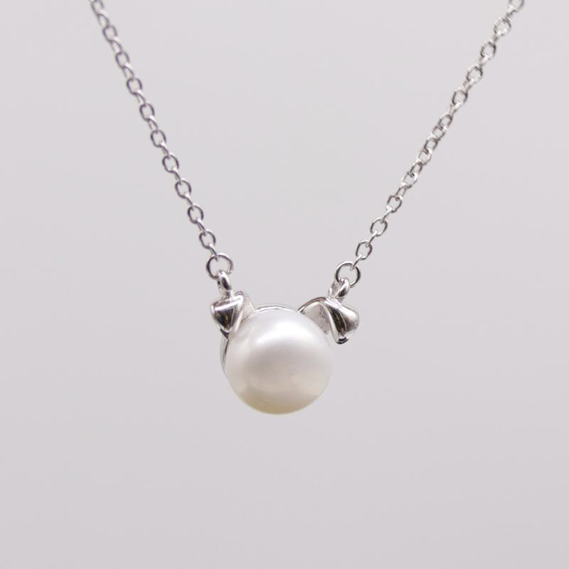 Pawsome Puppy Pearl Necklace