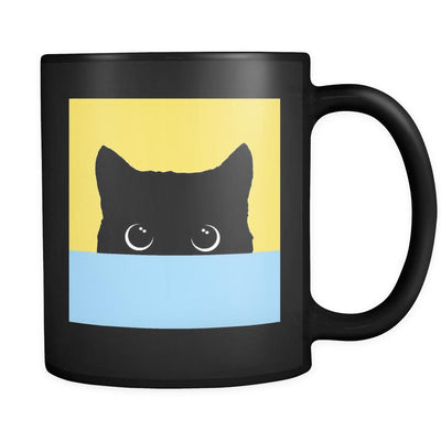 Peekaboo Yellow & Blue Mug-Pawsome Couture