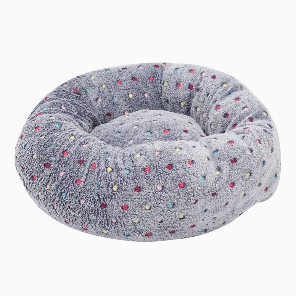 Polka Dot Cosy Pet Bed - Pawsome Couture