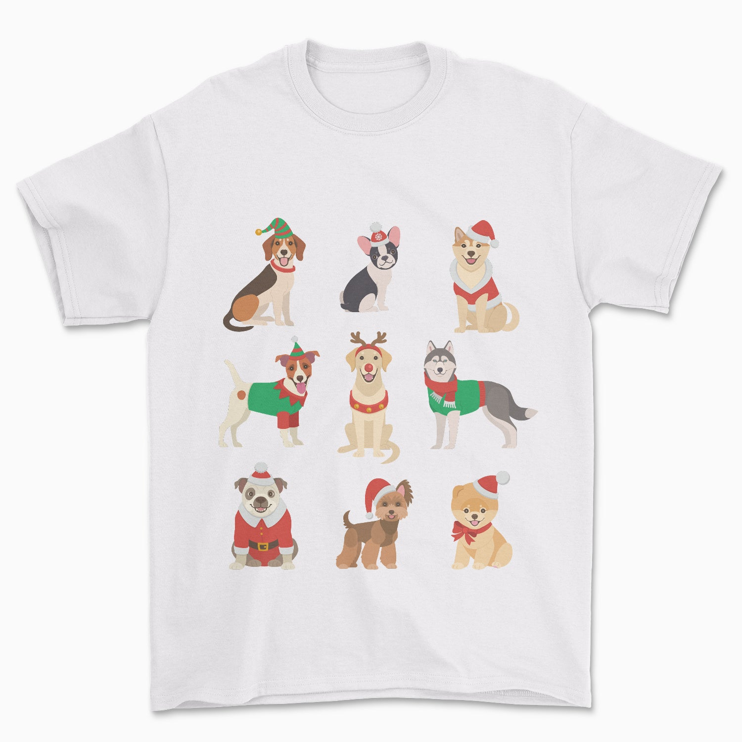 Santa Paws Dogs T-Shirt