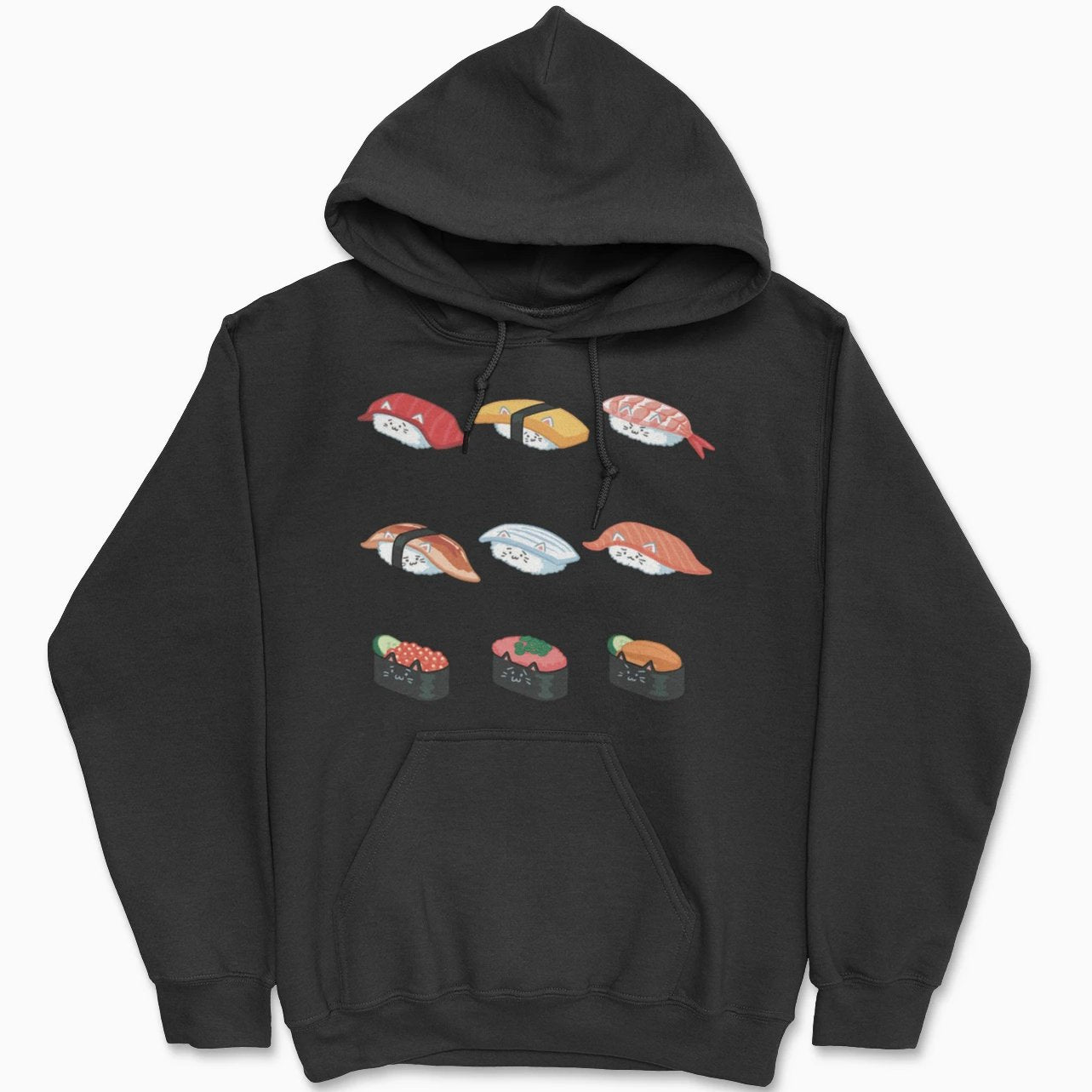 Sushi Cat Hoodie - Pawsome Couture