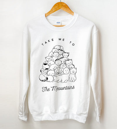 Take Me To The Meowntains Sweatshirt