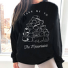 Take Me To The Meowntains Sweatshirt-Pawsome Couture