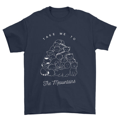 Take Me To The Meowntains T-Shirt-Pawsome Couture