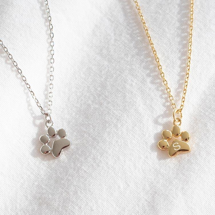 Teeny Tiny Paw Necklace - Pawsome Couture