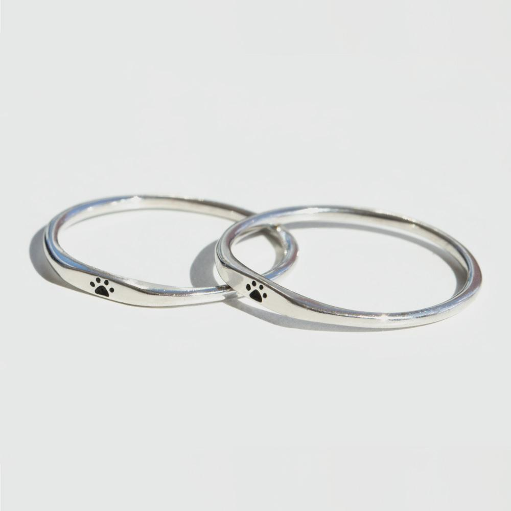 Teeny Tiny Paw Ring - BOGO - Pawsome Couture