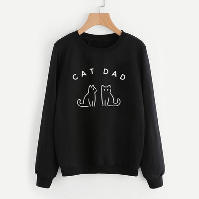 Ultimate Cat Dad Sweatshirt-Pawsome Couture
