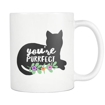 You're Purrfect Silhouette Mug