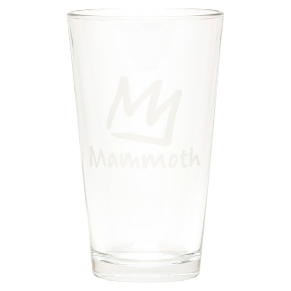 Crown 16 oz Pint Glass