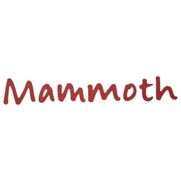 Mammoth Mountain Script Stickers (Pack of 5)