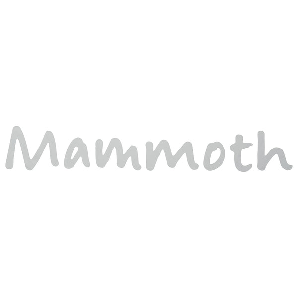Mammoth Script Logo Decal