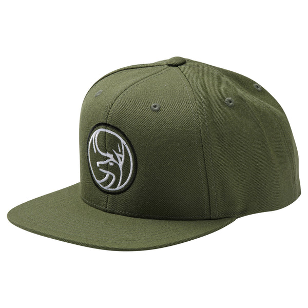 June Mountain Deer Logo Snapback