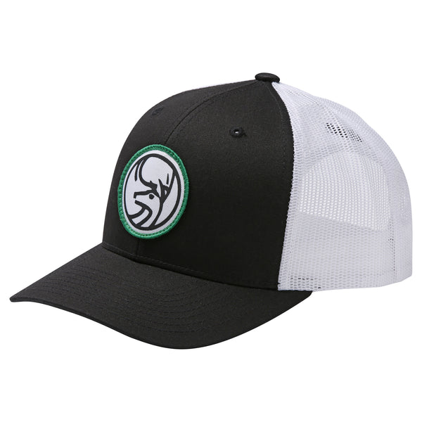 June Mountain Deer Logo Snapback Trucker