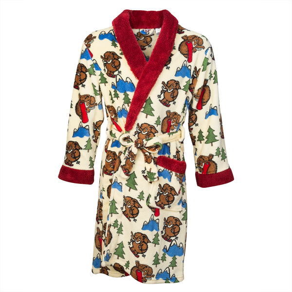 Woolly Bath Robe