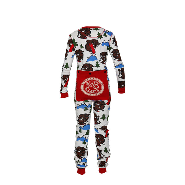 Woolly Flapjack Long Johns - Toddler & Youth