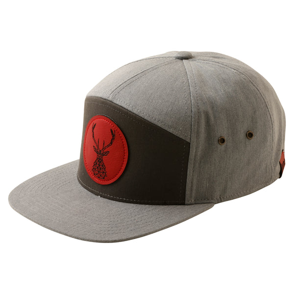 June Stag 7 Panel Snapback