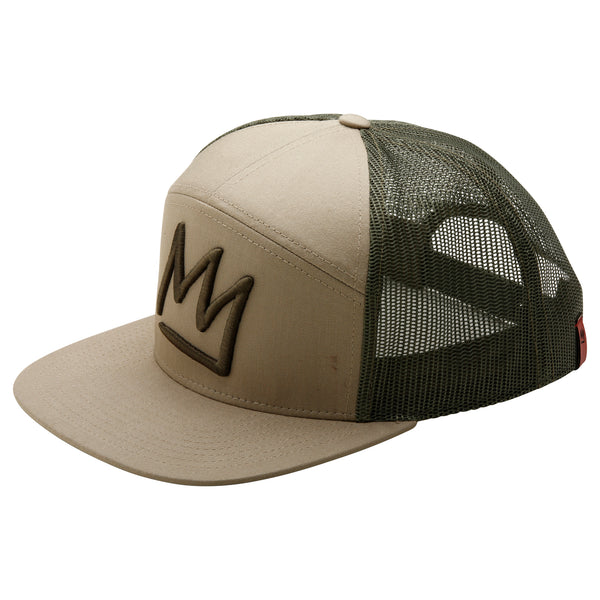 Crown 7 Panel Trucker
