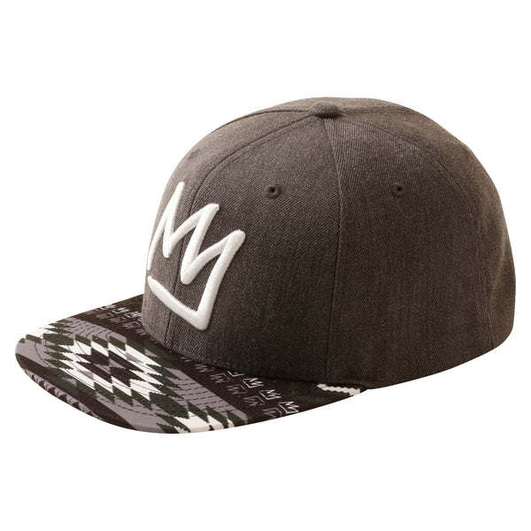 Crown 6 Panel Maztec Snapback