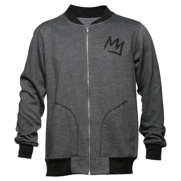 Crown Zip Crew Sweatshirt