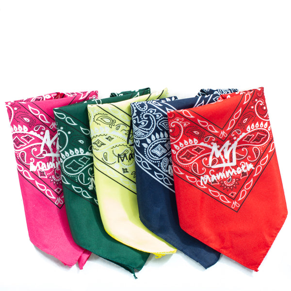 Mammoth Crown Logo Bandana