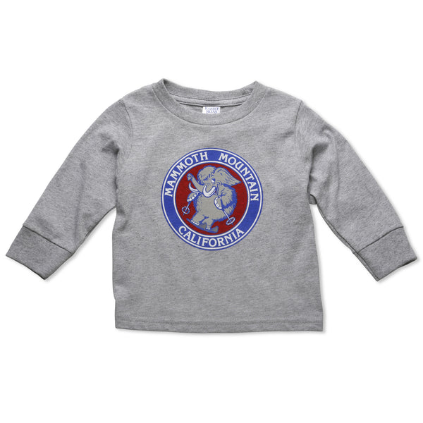 Skiing Woolly Toddler Long Sleeve T-Shirt